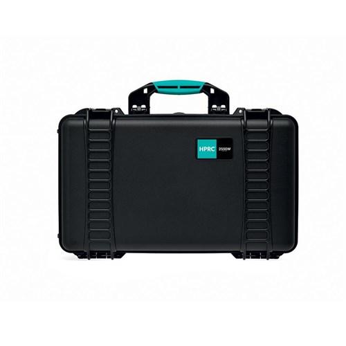 HPRC 2550W Black Empty case w/wheels