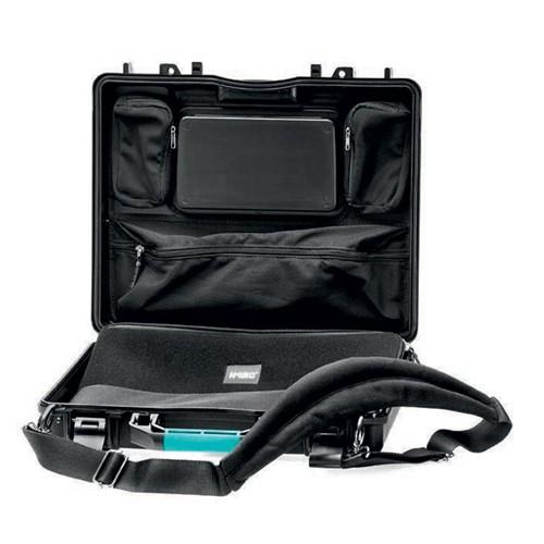 HPRC 2580ADV Black w/ Lid organizer and laptop sleeve