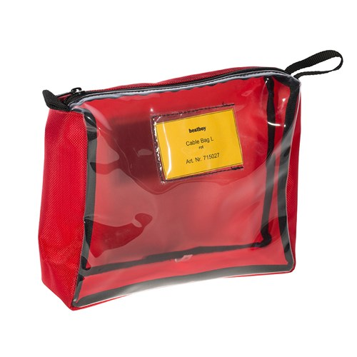 Bestboy 715 027  Cable Bag L red