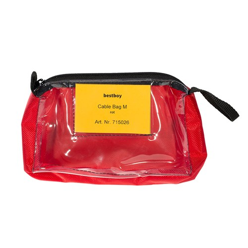 Bestboy 715 026  Cable Bag M red