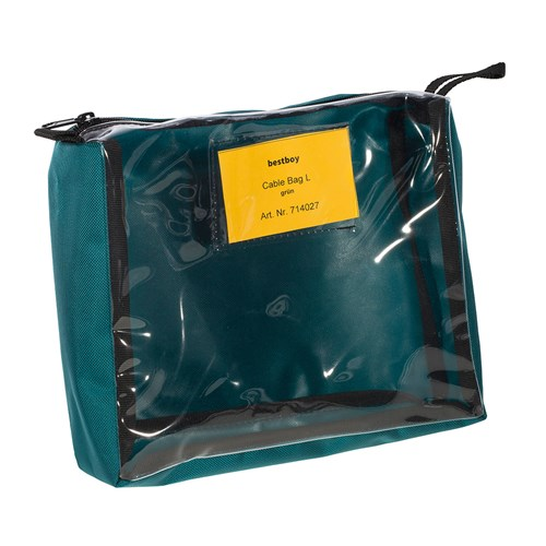 Bestboy 714 027  Cable Bag L green