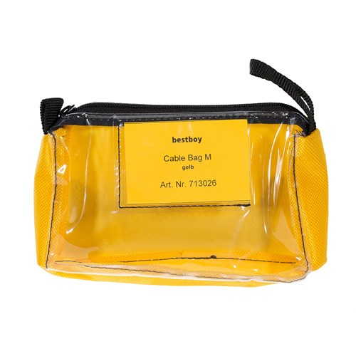 Bestboy 713 026  Cable Bag M yellow