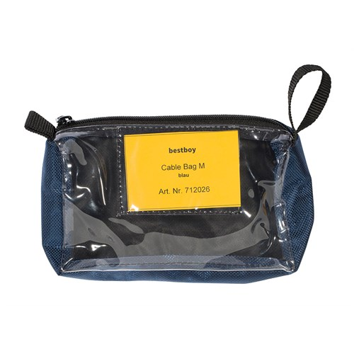 Bestboy 712 026  Cable Bag M blue