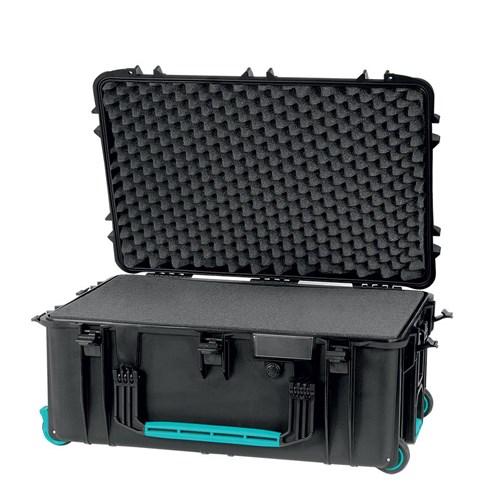 HPRC 2760W Wheeled Foam  Black/Blue Bassano