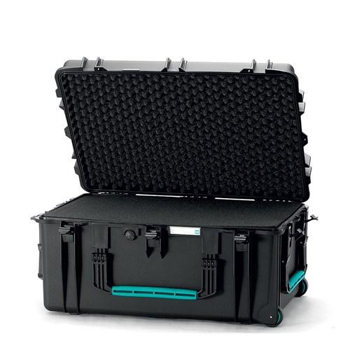 HPRC 2780W Wheeled Foam  Black/Blue Bassano