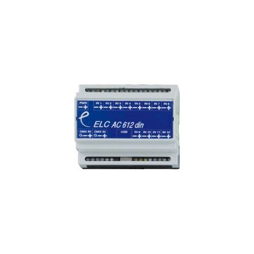 ELC DMX sequence player in cabinet AC612