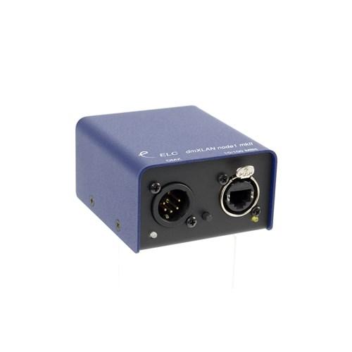 ELC dmxLAN node1: DMX/Ethernet node 1x XLR5 female