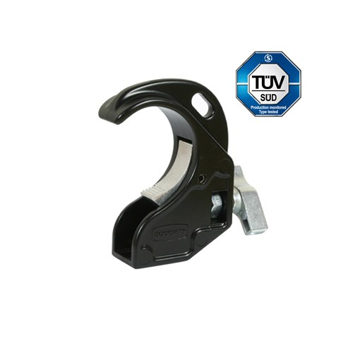 Doughty Twenty clamp 48-51mm 20kg with M10 bolt and nut