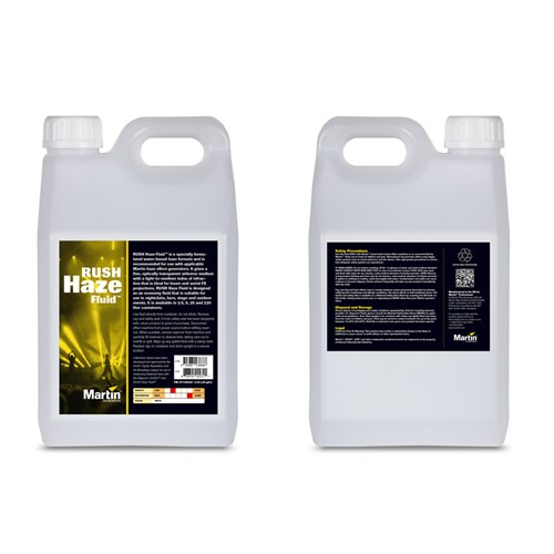 RUSH & THRILL Haze Fluid, 4x 2.5L