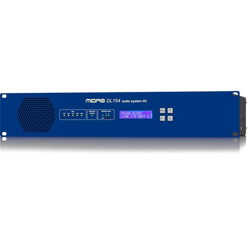 Midas DL154 - 8 inp. / 16 outp. Fixed Format I/O Unit