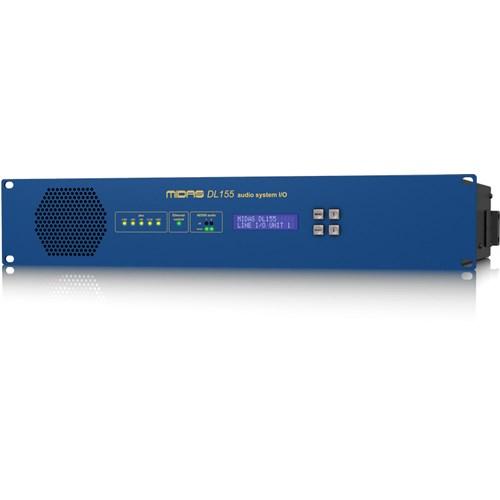 Midas DL155 - 8/8 Analog, 8/8 AES/EBU Fixed Format I/O Unit