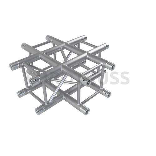 Eurotruss FD34 X-joint corner 4-way 71x71cm