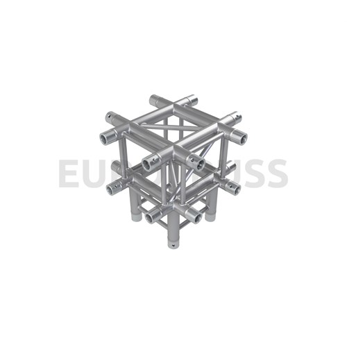 Eurotruss FD34 X-joint + down 5-way corner 50x50x50cm