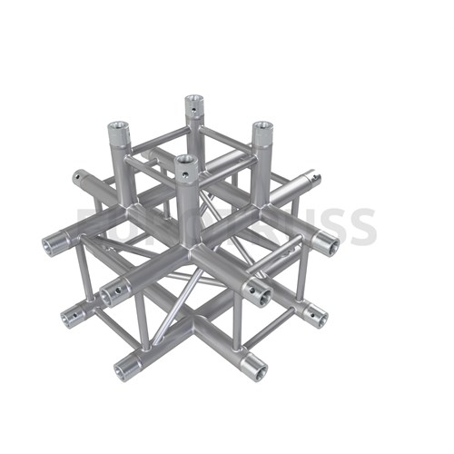 Eurotruss FD34 X-joint + down 5-way corner 71x71x50cm