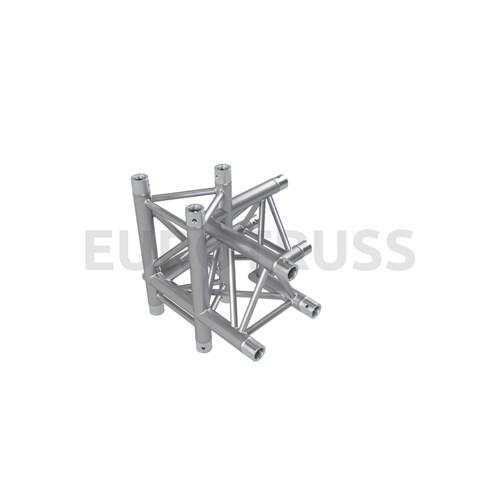 Eurotruss FD33 90 dgr+up+down LEFT 4-way corner 50x50x50cm