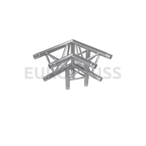 Eurotruss FD33 90 dgr + up LEFT 3-way corner 50x50x50cm