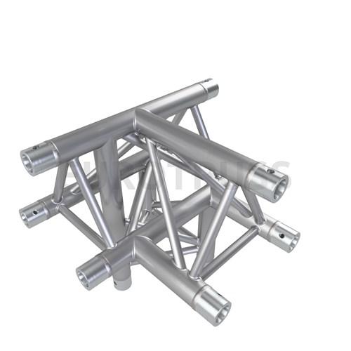 Eurotruss FD33 T-joint + down RIGHT 4-way corner 50x50x50cm