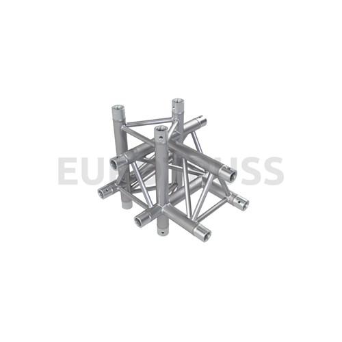 Eurotruss FD33 T-joint+up+down LEFT 5-way corner 50x50x50cm