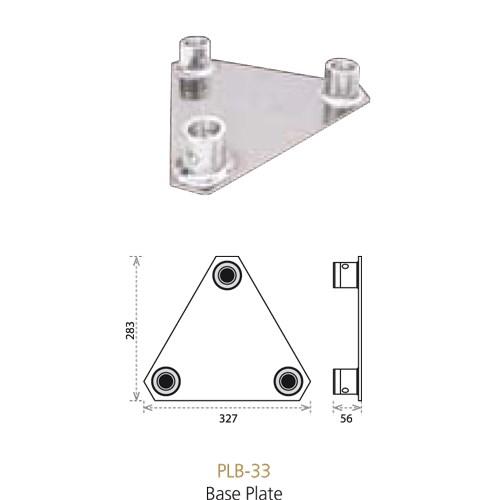 Eurotruss HD/FD33 Baseplate