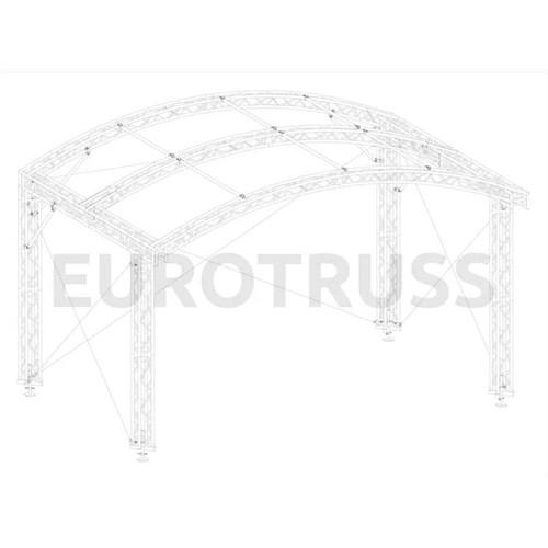 Eurotruss AR-10FD  Arc Roof 6x4m