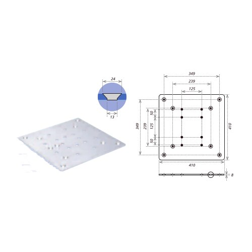 Eurotruss Adapter Plate Large