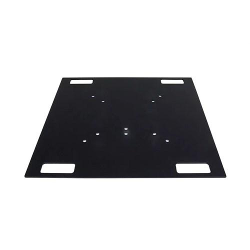 Eurotruss Steel Baseplate 80x80cm, 40kg Black