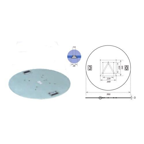 Eurotruss Totem Plate (steel) D=99cm 80kg
