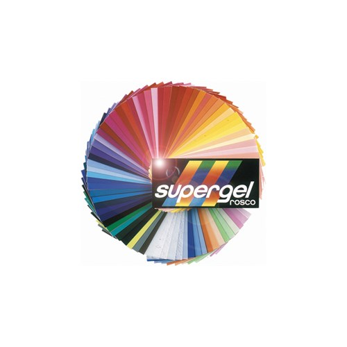 Rosco Supergel 09 Pale Amber Gold