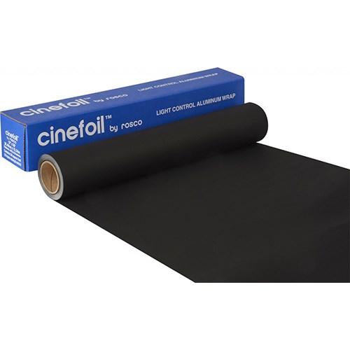 Rosco Cinefoil Black  61cm x 7.62m (boxed) Blackwrap