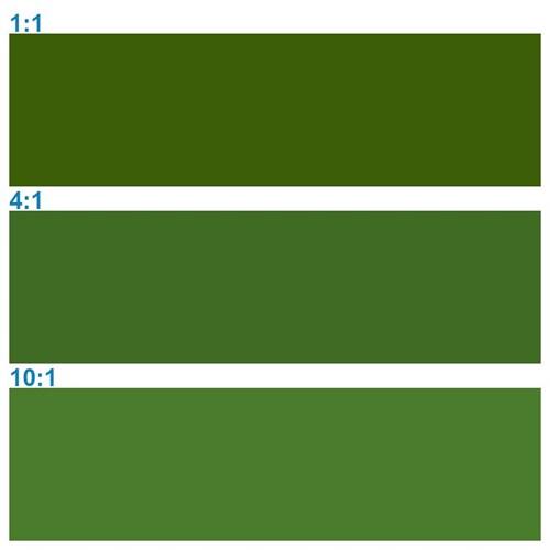 Rosco Supersat 59711 Chrome Green 1L