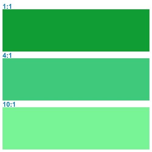Rosco Supersat 59721 Emerald Green 1L