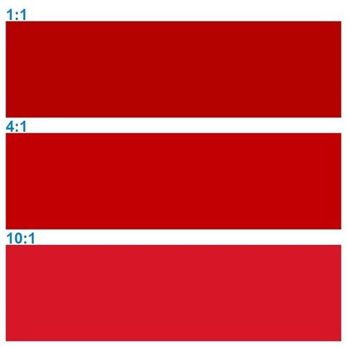 Rosco Supersat 59771 Spectrum Red 1L