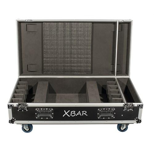 Bright Xbar 6x Flightcase w/o wheels Xline