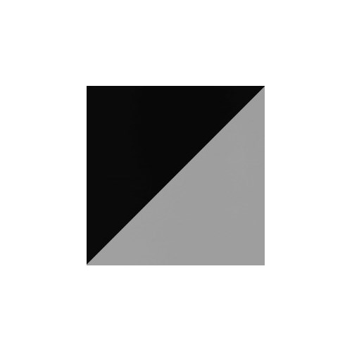 Dansematte 2m 20m rull svart/grå 1,25mm 1,6kg/m² pris pr m