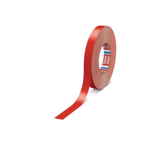 Tape  Gaffa 19mm 50m rød matt Tesa 4651