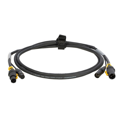 Hybridkabel PowerConTrue1/DMX XLR5P  1m m/stropp