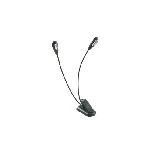K&M 85650 Duet 2 LED Notelys m/batteri (PSU)