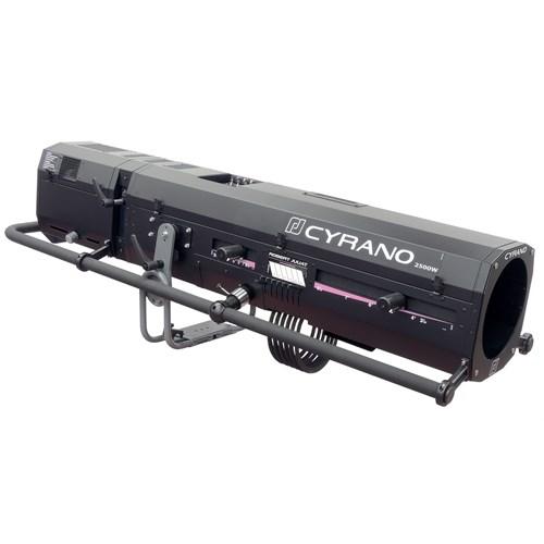 Juliat 2500w HMI Cyrano følgespot 3-8° DMXdimmer  1015BS