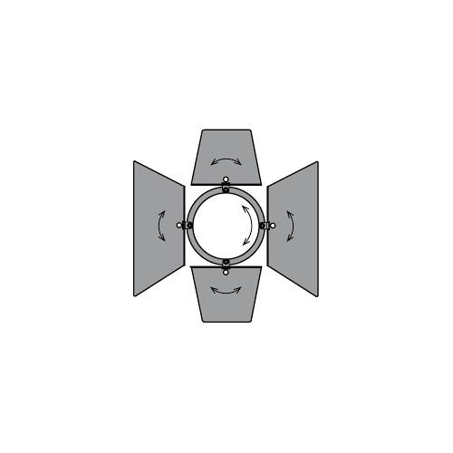 Juliat 306 LUTIN / 305 SULLY  Låvedør 18x18cm ø16cm CF500