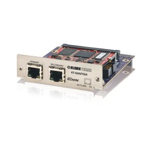 Klark Teknik DANTE64 Network Module DN9650/HD96