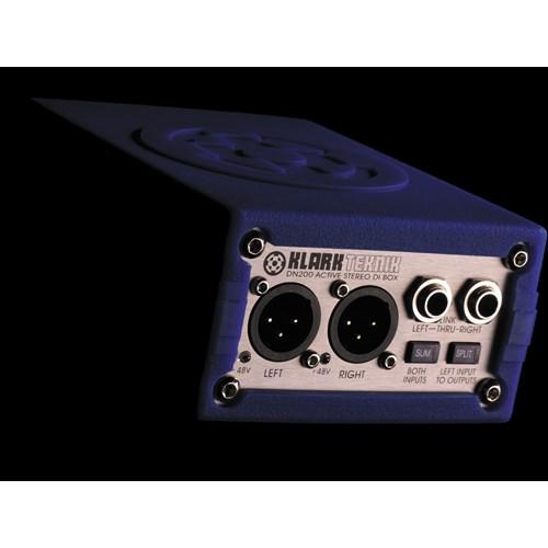 Klark Teknik DN200 Active Dual Ch. DI-Box