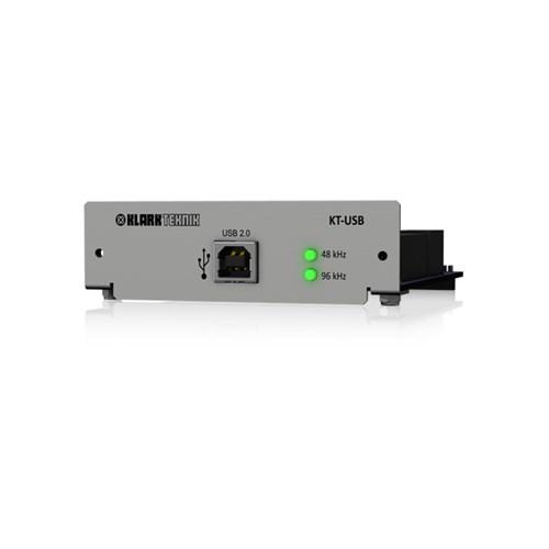Klark USB 2.0 Network Module 24/48 Bidir Ch. DN9650/HD96