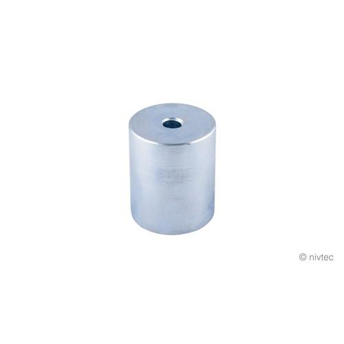 Nivtec adapter, ø 48,3 mm, steel galvanized
