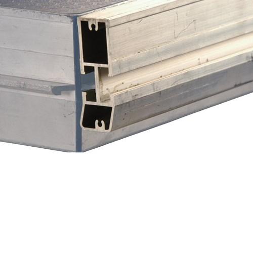 Nivtec alu adapter lath / reversal profile, length: 200cm