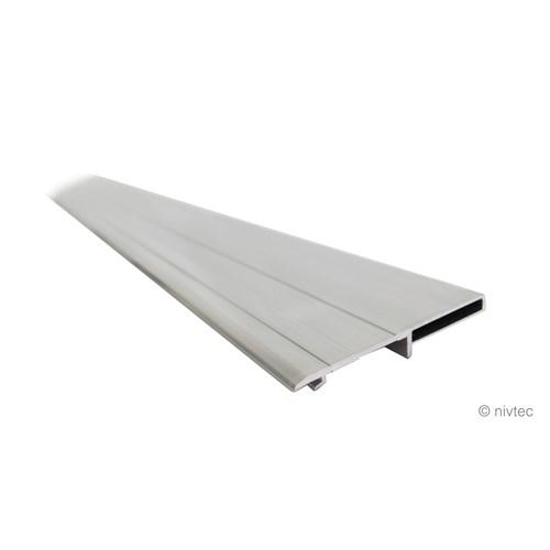 Nivtec alu anti-tumbling board + lining lath, 2-in-1, 150cm