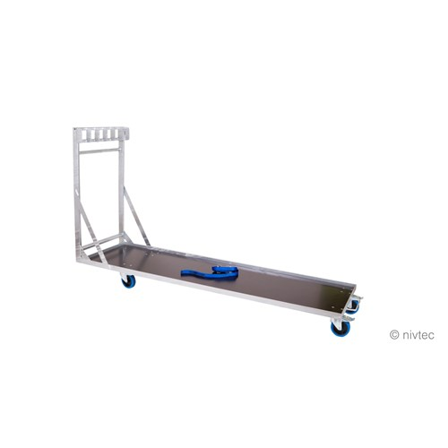 Nivtec platform trolley, large, for 6 platforms, 216 x 59cm