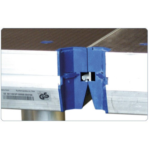 Nivtec platform, 100x100cm, 4 recessed corners