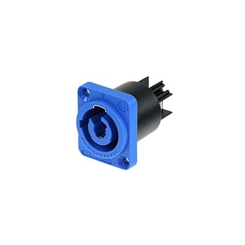 Neutrik PowerCon 3p Chassis 230V power inn, Blå 20A