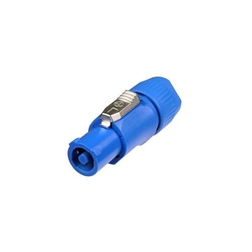 Neutrik PowerCon 3p Kabel 230V power inn, Blå 20A
