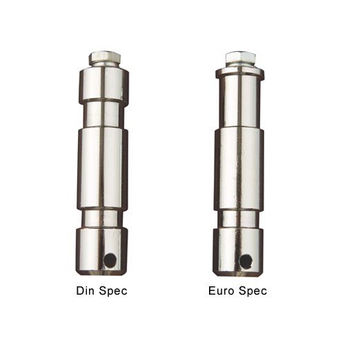 Spigot  28mm >M10 Hull  Eurospec m / 40mm bolt & skiver